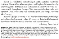 Great review in the Downbeat magazine